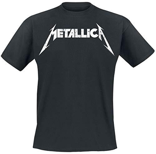 Metallica Textured Logo Hombre...