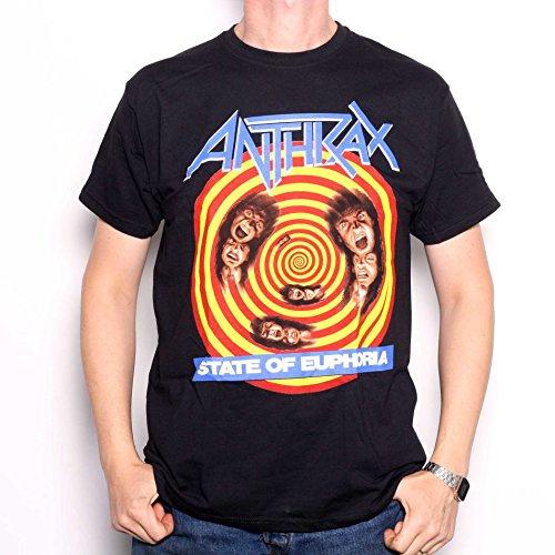T-Shirt # L Black Unisex #...