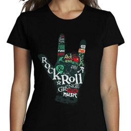 Camiseta Rock And Roll | Mujer