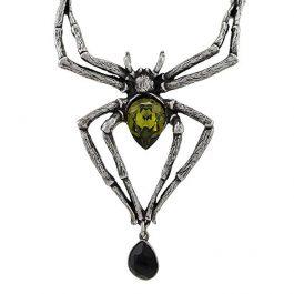 Colgante Alchemy Gothic Emeralda Venenosa