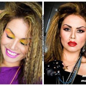 Diferencia entre maquillaje de fiesta y maquillaje de rockera