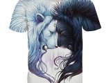 Lion SunMoon – Camiseta Manga Corta Hombre