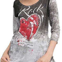 Love Rock It – Camiseta Media Manga