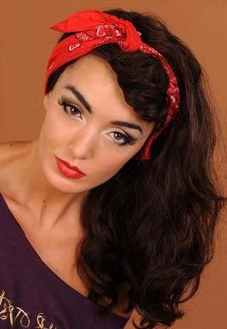 3 Peinados para Mujeres Rockeras con pañuelo