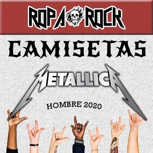 Camisetas de Metallica para Hombre 2020