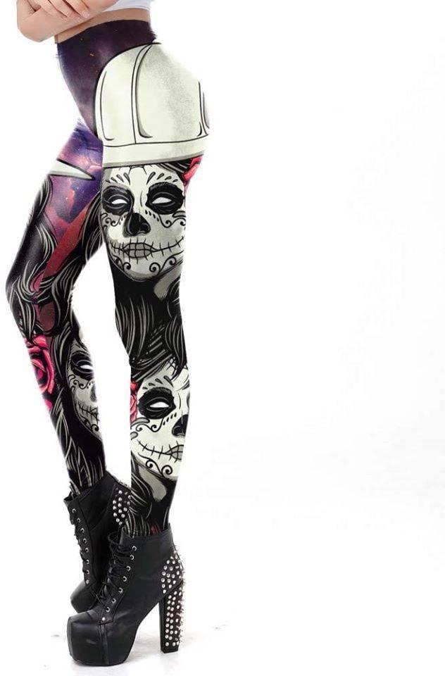 Los leggins rockeros que presentamos están diseñados para todas las ocasiones en las que quieras ir a demostrar lo que valen tus piernas.