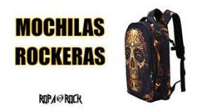La representación de RopaRock para sus mochilas rockeras.