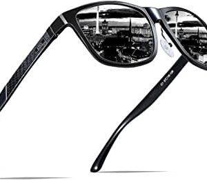 Representación de la oferta en gafas de sol para hombres rockeros.