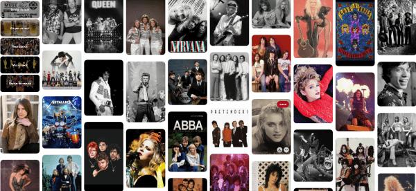 Los rockeros de los años 80