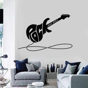 Pegatinas de pared rockeras, selección RopaRock.