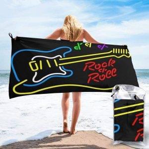 Toallas de playa rockeras, seleccionadas por RopaRock.
