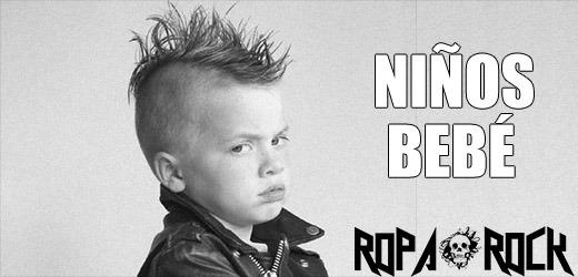 Ropa para Niños y Niñas Rockeros