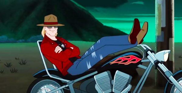 Axl Rose (Guns N´Roses) Su aparición en Scooby Doo