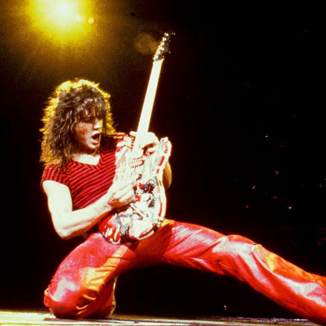 Eddie Van Halen en concierto