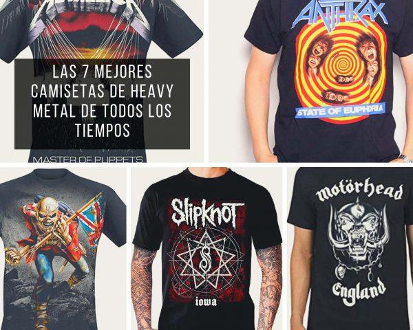 Las mejores camisetas del heavy metal